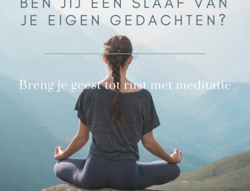 Breng je geest tot rust met meditatie